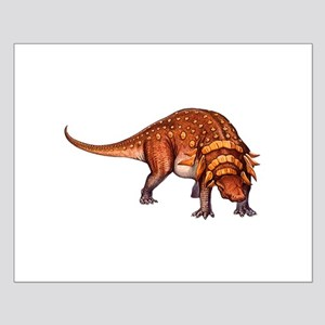 Edmontonia Jurassic Dinosaur Small Poster