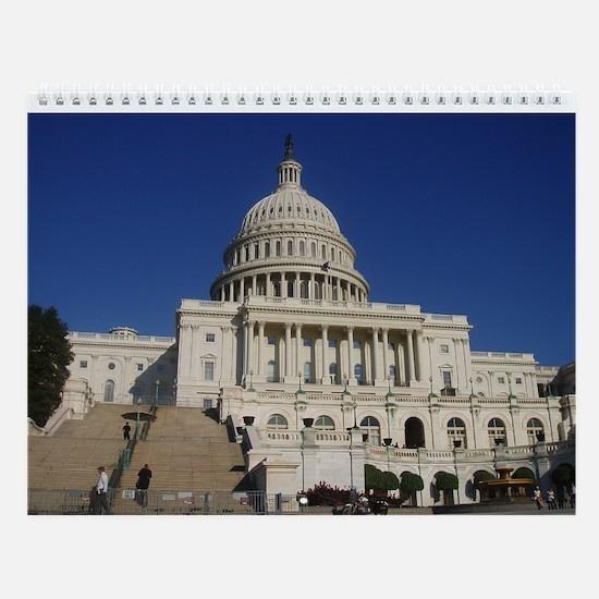 Cute Washington d.c Wall Calendar