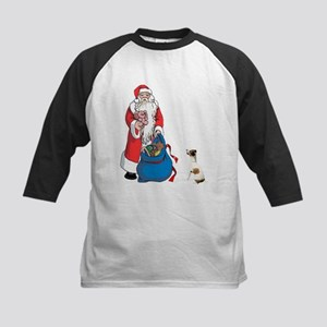 JACK RUSSELL TERRIER AND SANT Kids Baseball Jersey