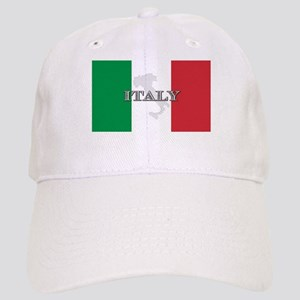 Italian Flag Extra Cap