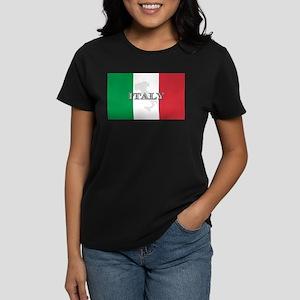 Italian Flag Extra Women's Dark T-Shirt