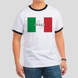 Italian Flag Extra Ringer T