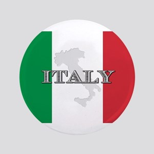"Italian Flag Extra 3.5"" Button"