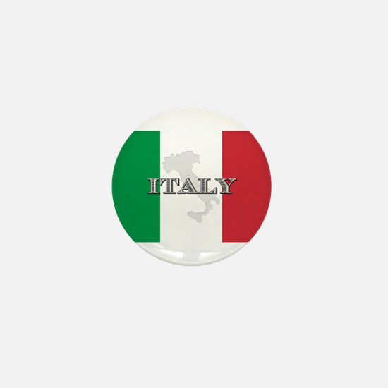 Italian Flag Extra Mini Button
