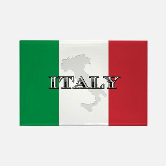 Italian Flag Extra Rectangle Magnet (10 pack)