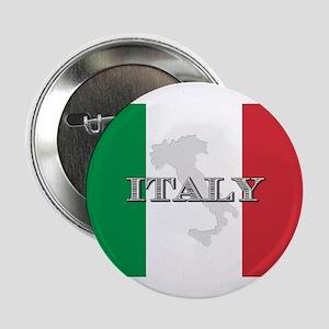 "Italian Flag Extra 2.25"" Button"