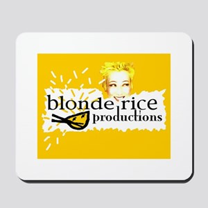 Blonde Rice Productions Mousepad