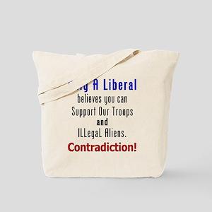 Conservative Politics Tote Bag