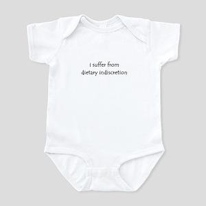 dietary indiscretion Infant Bodysuit