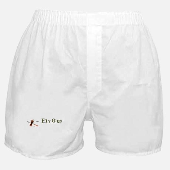 Fly Fishing Guy Boxer Shorts
