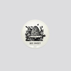 BEE SWEET Mini Button