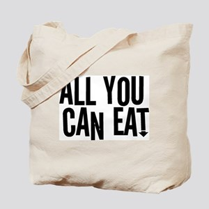 All You Can Eat Tote Bag