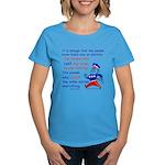 Count the votes Women's Dark T-Shirt