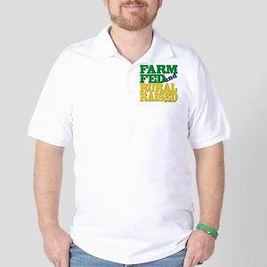 FARM FED & RURAL RAISED Golf Shirt
