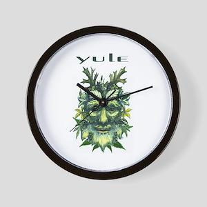 YULE Wall Clock