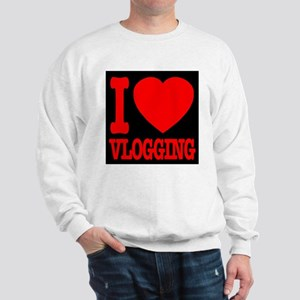 I Love Vlogging Sweatshirt