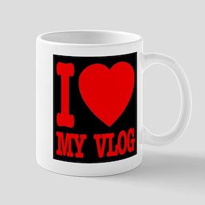 I Love My Vlog Mug