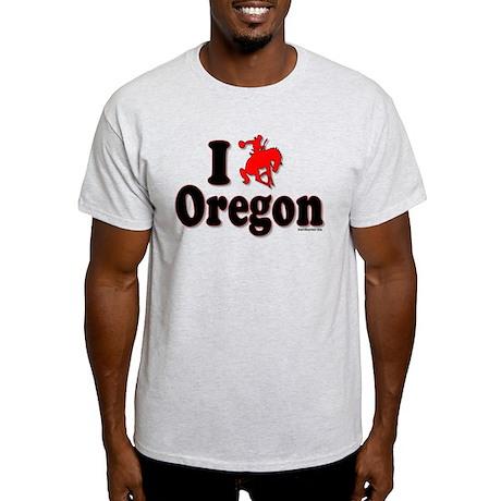 """RODEO OREGON"" Light T-Shirt"
