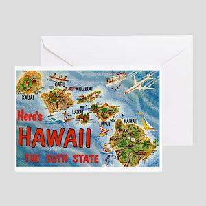 Hawaii HI Greeting Card