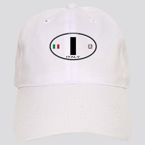 Italy Euro Oval Cap