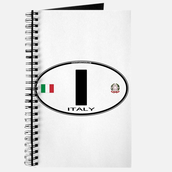 Italy Euro Oval Journal