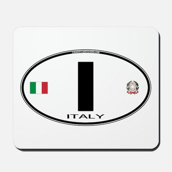 Italy Euro Oval Mousepad