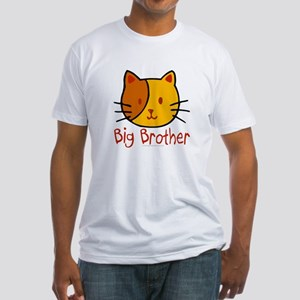 Cat Big Brother Fitted T-Shirt
