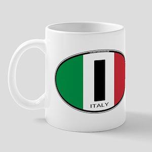 Italy Oval Colors Mug