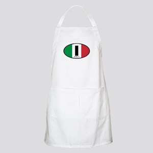 Italy Oval Colors BBQ Apron
