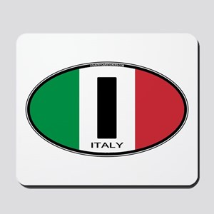 Italy Oval Colors Mousepad