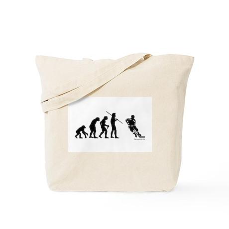 Hockey Evolution Tote Bag