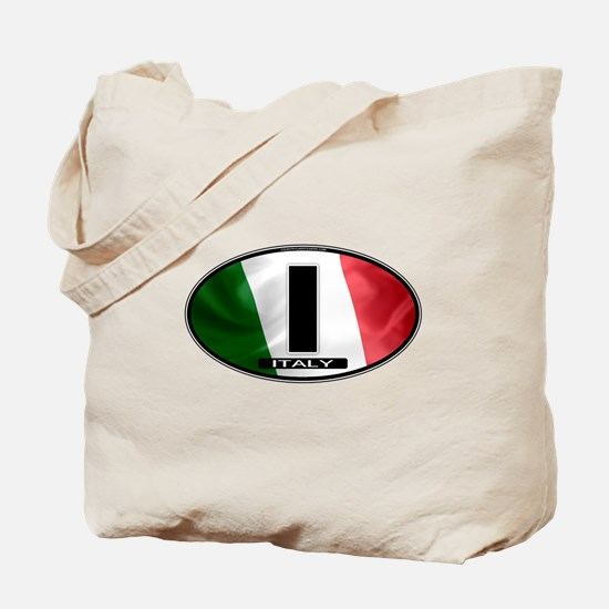 Italy Oval Colors 2 Tote Bag