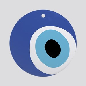 EVIL EYE PROTECTION Ornament (Round)