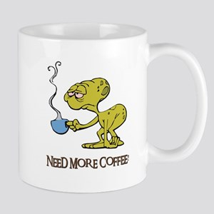 Cofee Alien Mug