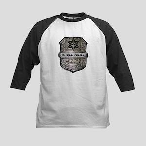 Israeli Police Kids Baseball Jersey