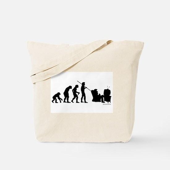 Couch Potato Evolution Tote Bag