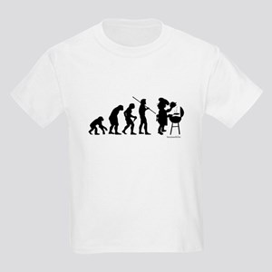 Barbecue Evolution Kids Light T-Shirt
