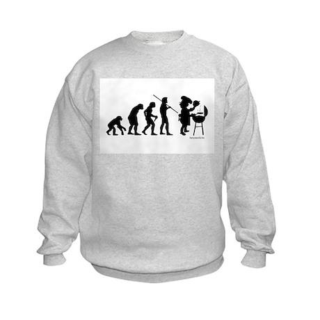 Barbecue Evolution Kids Sweatshirt
