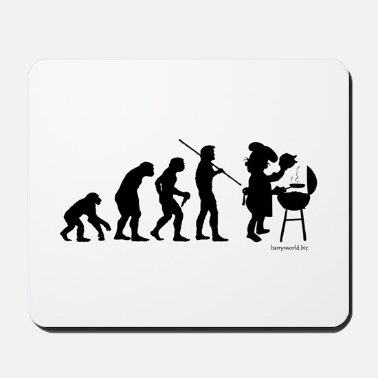 Barbecue Evolution Mousepad