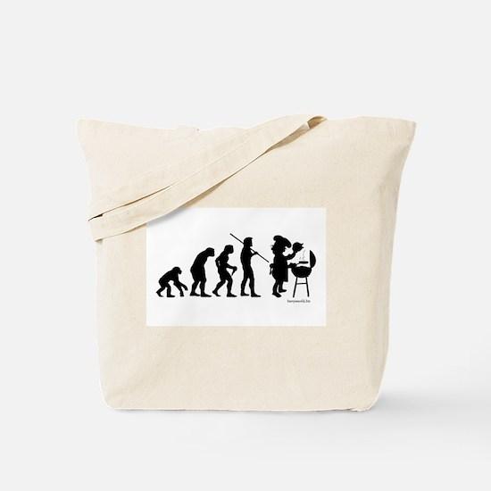 Barbecue Evolution Tote Bag