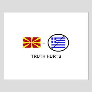 Macedonian not Greek Small Poster