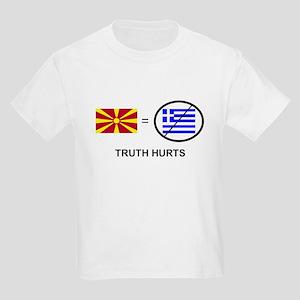 Macedonian not Greek Kids Light T-Shirt