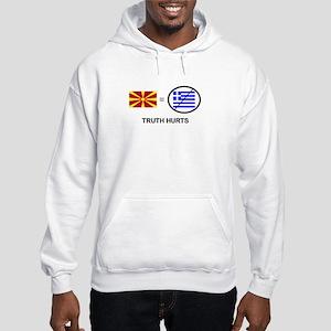 Macedonian not Greek Hooded Sweatshirt