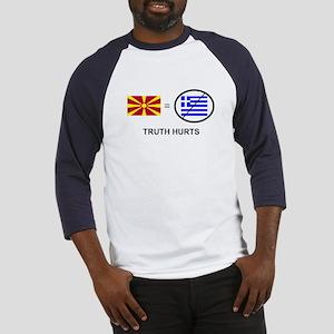 Macedonian not Greek Baseball Jersey
