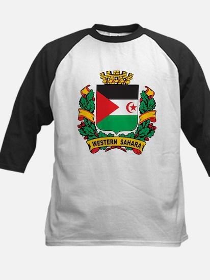 Western Sahara Crest Kids Baseball Jersey