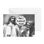 Jesus Wine Greeting Cards (Pk of 20)