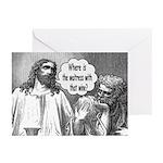 Jesus Wine Greeting Cards (Pk of 10)