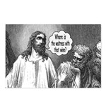 Jesus Wine Postcards (Package of 8)