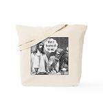 Jesus Wine Tote Bag