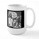 Jesus Wine Dark Large Mug